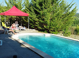 chambres d'hotes piscine baronnies